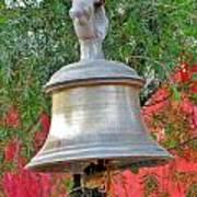 Beautiful Temple Bell At Vishwanath - Himalayas India Art Print