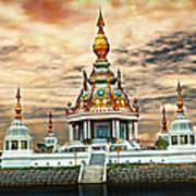 Temple Island. Art Print