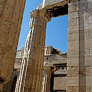 Temple Maze Of Columns Art Print