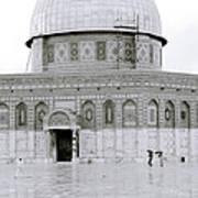Temple Mount Art Print
