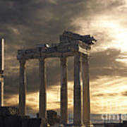 Temple Of Apollo In Side Art Print