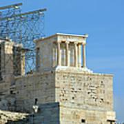 Temple Of Athena Nike Art Print
