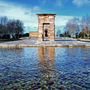 Temple Of Debod Art Print