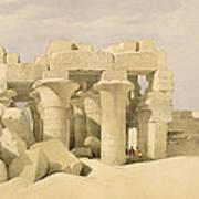 Temple Of Sobek And Haroeris At Kom Ombo Art Print