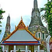 Temple Of The Dawn-wat Arun In Bangkok-thailand Art Print