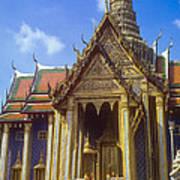 Temple Of The Emerald Buddha Art Print