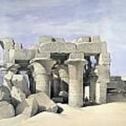 Temple On Nile Art Print