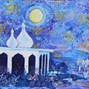 Temple On The Sea 2 Art Print