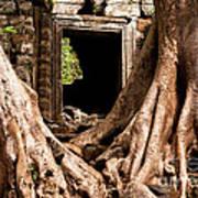 Temple Ruins 01 Art Print