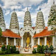 Temple Towers Art Print
