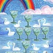 Ten Of Cups Art Print