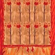Ten Of Wands Art Print