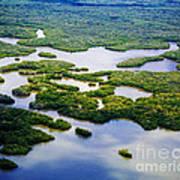 Ten Thousand Islands 2  Art Print