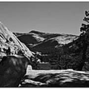 Tenaya Lake In Yosemite Art Print