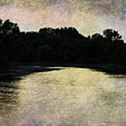 Tender Sundown Art Print