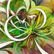 Tendrils 15 Art Print by Amanda Moore