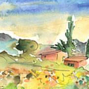 Tenerife Landscape 01 Art Print