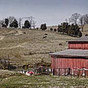 Tennessee Farmstead Art Print