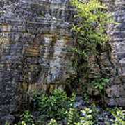 Tennessee Limestone Layer Deposits Art Print