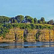 Tennessee River Cliffs Art Print