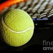 Tennis Equipment Art Print