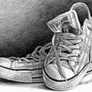 Tennis Shoes Art Print