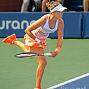 Tennis Star Laura Robson Art Print by Harold Bonacquist