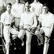 Tennis Team 1921 Art Print