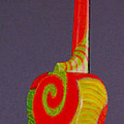 Tenor Pono Ukulele Art Print