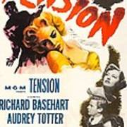 Tension, Us Poster, From Top Audrey Art Print