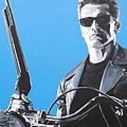 Terminator I'll Be Back Art Print