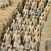 Terra Cotta Warriors Art Print