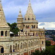 Terraces And Towers Of Fishermans Bastion Art Print