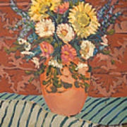 Terracota Vase Art Print