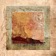 Terracotta Earth Tones Art Print