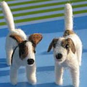 Terriers Art Print