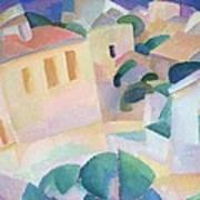 Terrino, Mallorca, 1914 Art Print