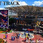 Test Track Opening 1999 Art Print