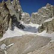1m9385-teton Glacier Art Print