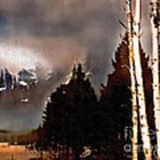 Teton Storm Art Print