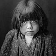 Tewa Indian Child Circa 1905 Art Print