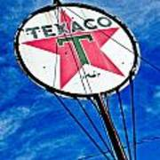 Texaco Gasoline Art Print by Merrick Imagery