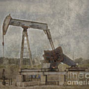 Texas Black Gold Art Print