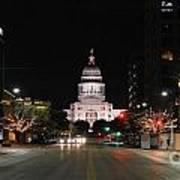 Texas Capital Building Art Print