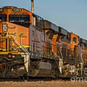 Texas Freight  Art Print