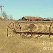 Texas Hill Country Farmscape Art Print
