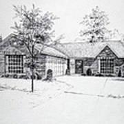 Texas Home 1 Art Print