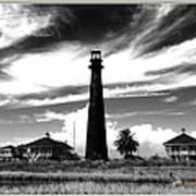 Texas Lighthouse Art Print