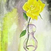 Texas Rose Art Print