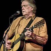 Texas Singer Songwriter Guy Clark Art Print